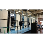 KBA metal printing line with UV and coating line